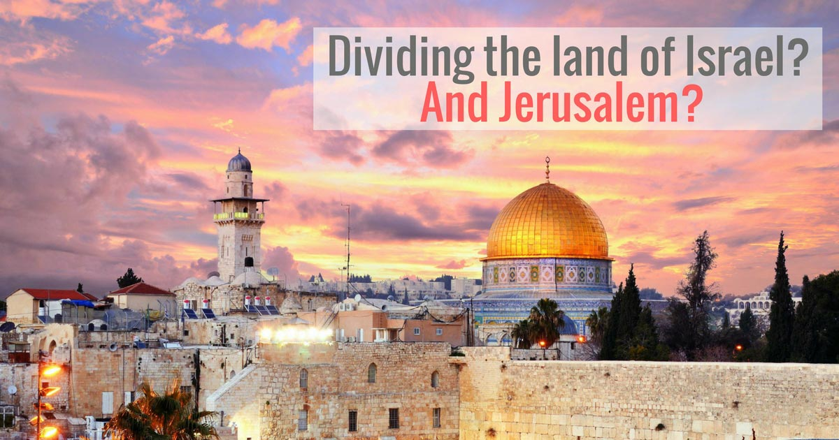 God chose the temple to be in the city of Jerusalem