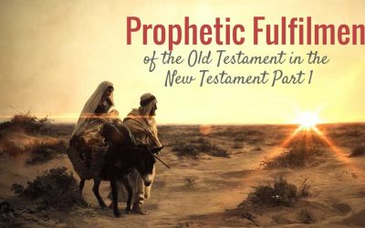 Prophetic Fulfilment of the Old Testament in the New Testament Part 1
