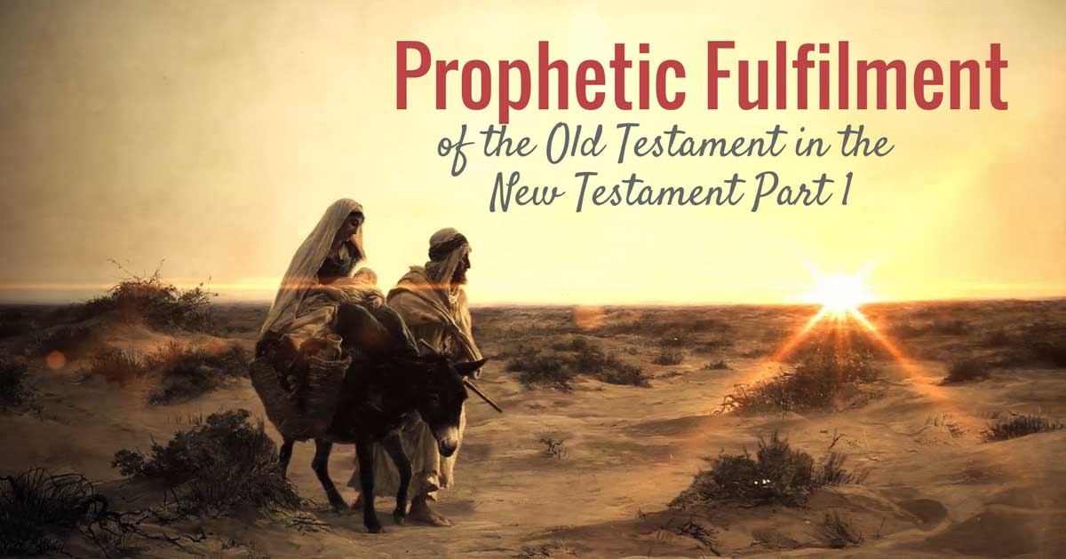 How does the New Testament indicate that prophetic fulfilment of the Old Testament has taken place? This question is not dry, abstract or only of academic interest, because it has an important impact on the doctrine of end times (eschatology).