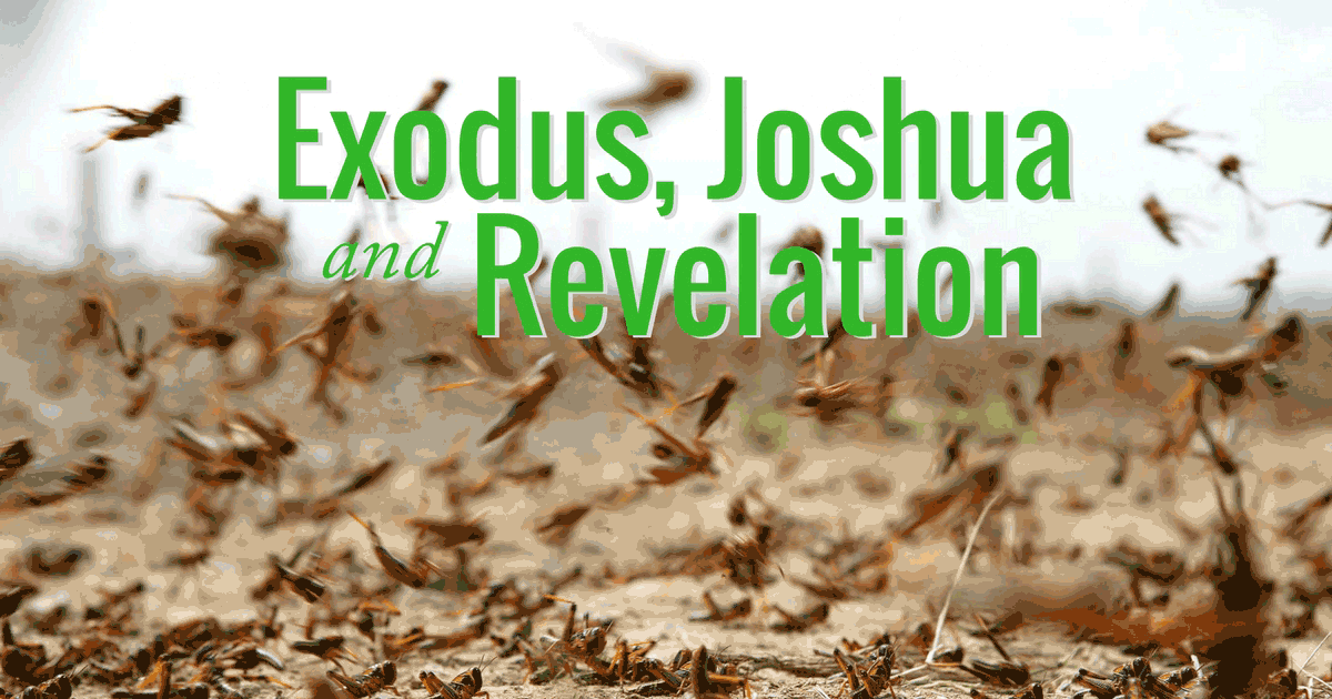 There are many typological connections between the books of Exodus and Revelation. But the same can be said for Joshua and Revelation. Why is this the case? What typological connections exist between these three books? When may these Old Testament types be fulfilled in the New Testament antitypes? We consider various typological connections between Exodus, Joshua and Revelation.