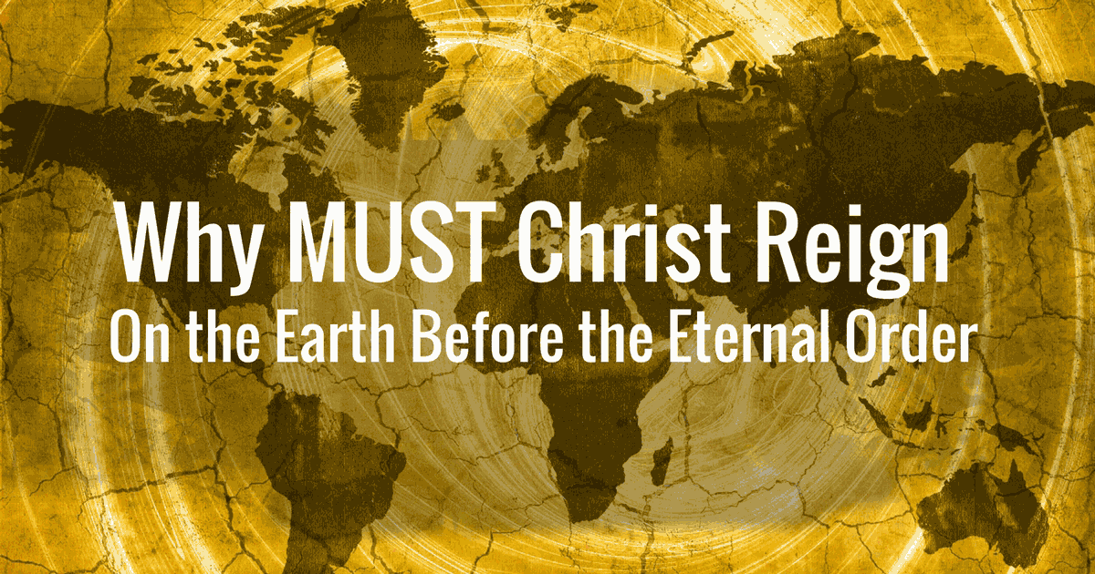 During the Millennium, the last Adam must rule the earth in the same realm where the first Adam failed (Gen 1:28; 3:17–19; Ps 8:4–10; Heb 2:5–9). In the same realm where 70 nations once failed, Christ will successfully rule over the elect nation Israel as well as over all the other nations (Isa 9:6–7; 11:1–2; Jer 23:5–8; Dan 7:14, 27; Matt 19:28; Luke 1:32–33; Rev 11:15).